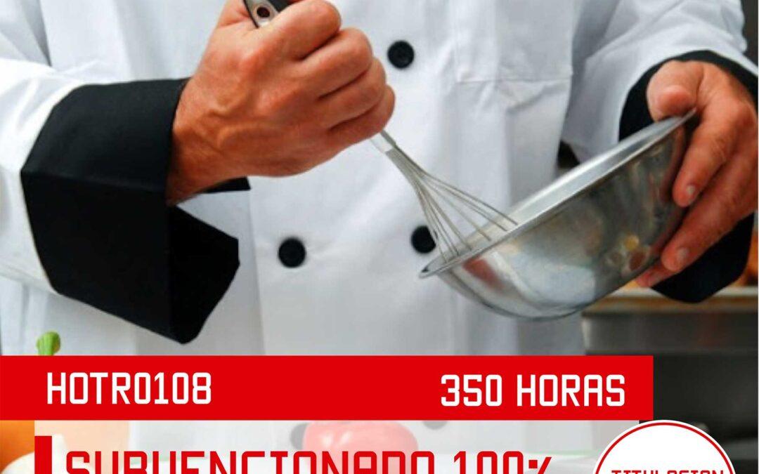 HOTR0108 – OPERACIONES BÁSICAS DE COCINA