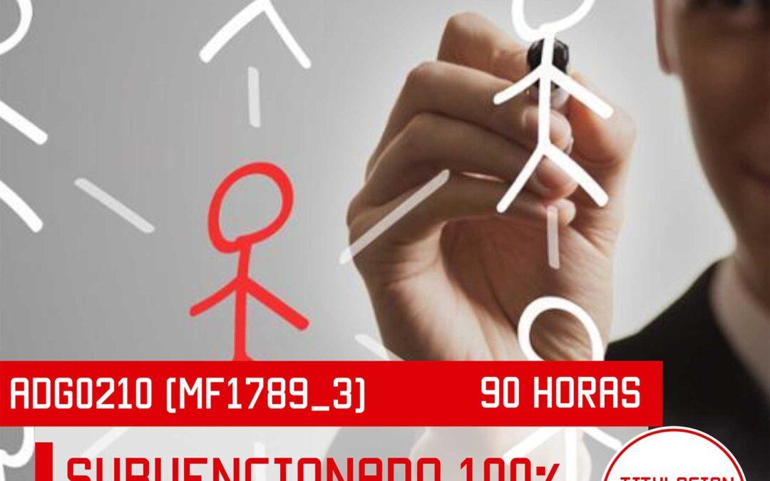 MF1789_3 – DIRECCION DE LA ACTIVIDAD EMPRESARIAL DE PEQUEÑOS NEGOCIOS O MICROEMPRESAS