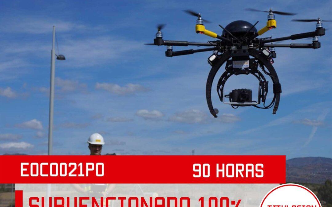 EOC021PO – FOTOGRAFÍA AERÉA Y FOTOGRAMETRÍA PARA CONSTRUCCIÓN Y OBRA CIVIL CON USO DE DRONES