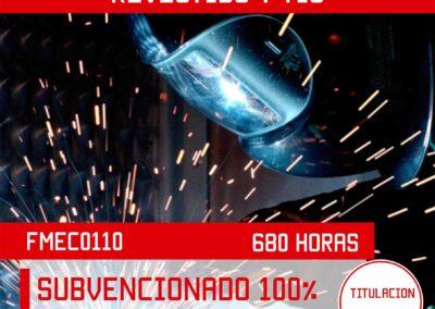 FMEC0110 – SOLDADURA CON ELECTRO REVESTIDO Y TIG