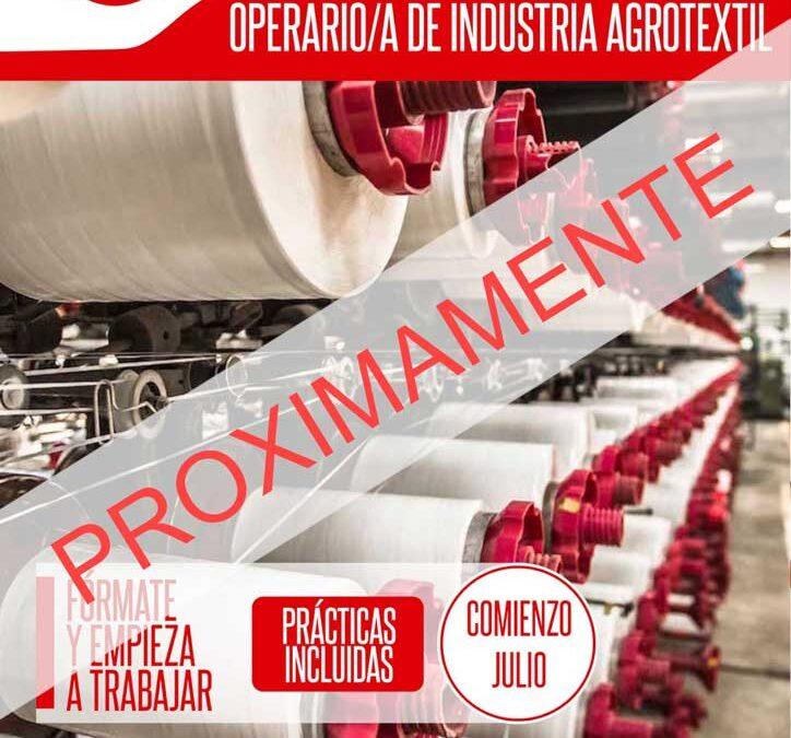 OPERARIO/A DE INDUSTRIA AGROTEXTIL