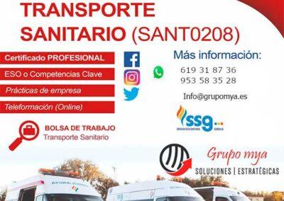 SANT0208 – TRANSPORTE SANITARIO